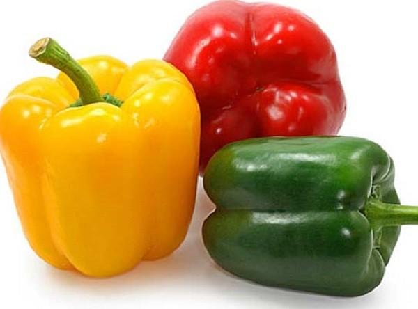 разные сорта перца