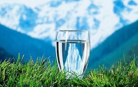 вода с камнем шунгит