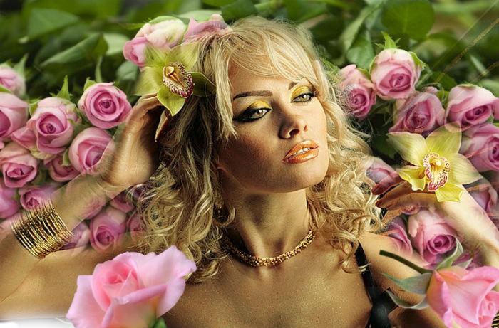 польза розы для волос
