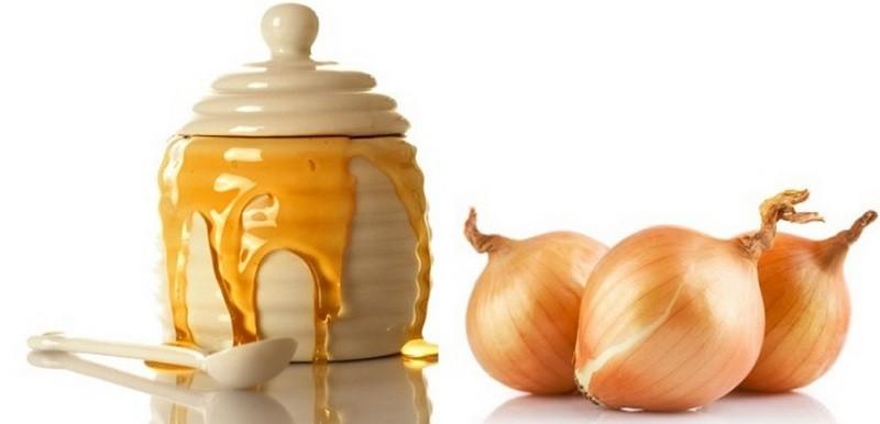 лук и мед от давления