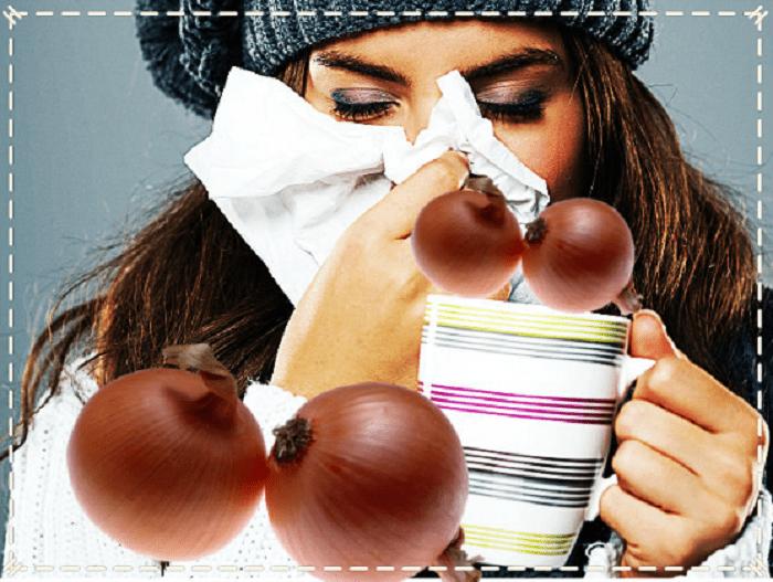 лечение репчатым луком простуды