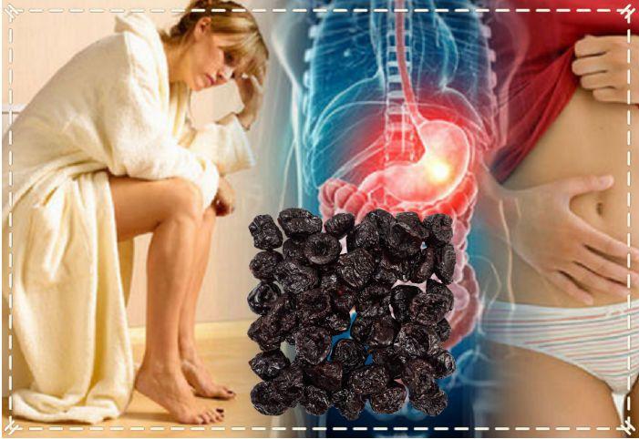лечение запоров черносливом