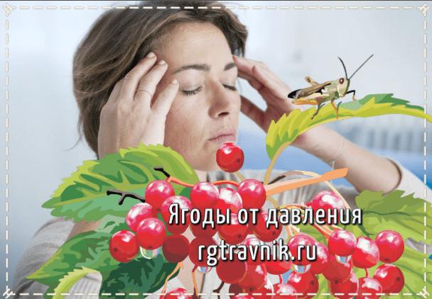 три ягоды от давления