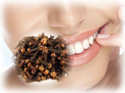 лечение зубной боли маслом гвоздики