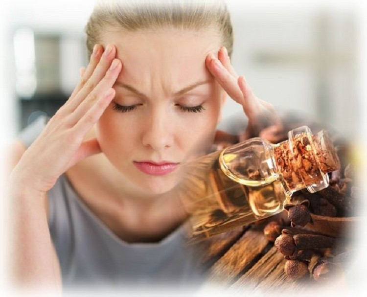 масло гвоздики от головной боли