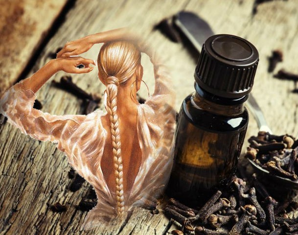 масло гвоздики для роста волос