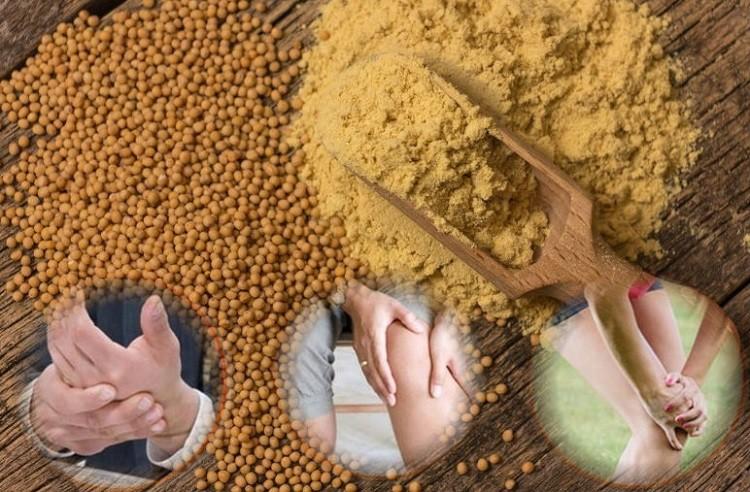 польза горчичного порошка для суставов