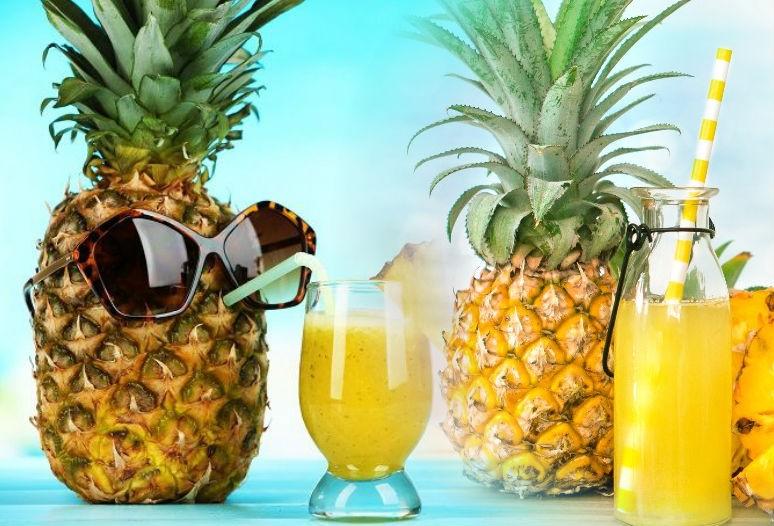 ананас и сок из него