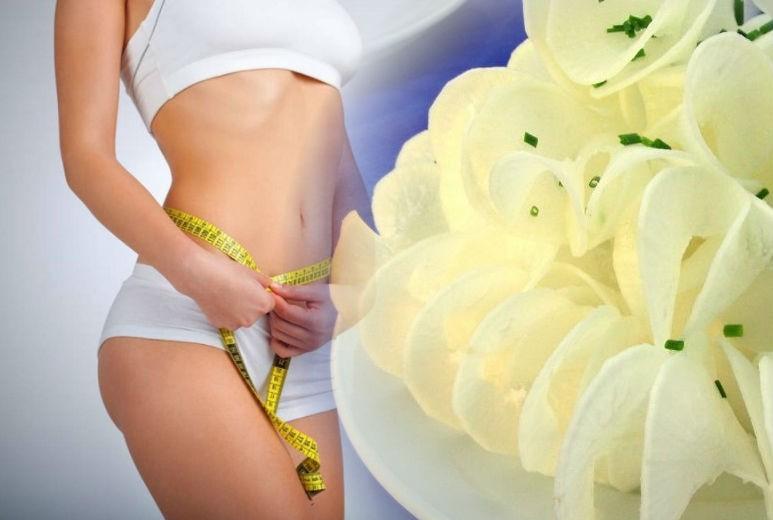 дайкон для снижения веса